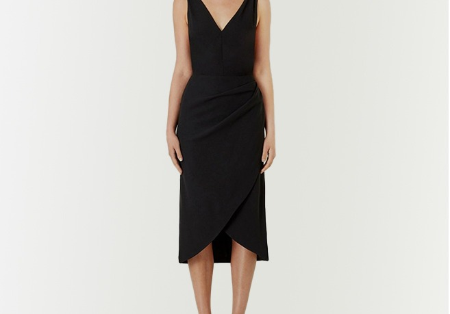 VICTORIA WOODS Prudence Cross Back Dress