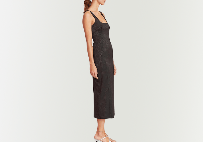 Bec + Bridge Zeb're Midi Dress Black