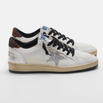 GOLDEN GOOSE Ball Star Sneakers, Size 7.5